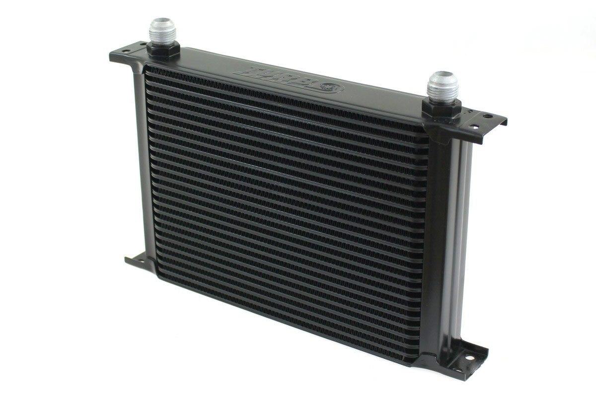 Chłodnica Oleju TurboWorks 25-rzędowa 260x195x50 AN10 black - GRUBYGARAGE - Sklep Tuningowy